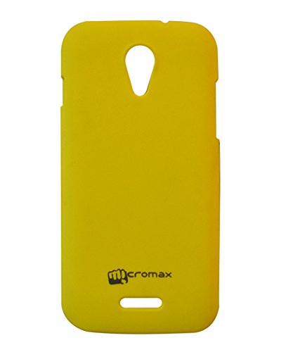 COVERNEW Back Cover for Micromax A114 Canvas 2.2-Yellow  available at amazon for Rs.229
