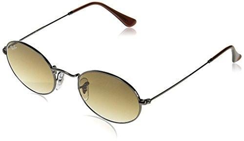 Ray-Ban Unisex-Erwachsene 0RB3547N 004/51 51 Sonnenbrille, Gunmetal/Crystalbrowngradient