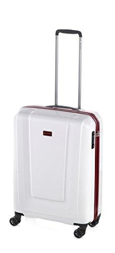 Rollo–Maleta con ruedas, 4(doble) de ruedas, TSA, 3tallas, 3colores: azul, rojo, blanco
