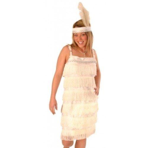 Charleston White 2 piece Dress by ()