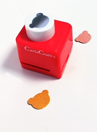 Carla Craft-Orsetto di peluche, 1 cm)-Cartonato di su carta, progetti di Scrapbooking, Love Collection