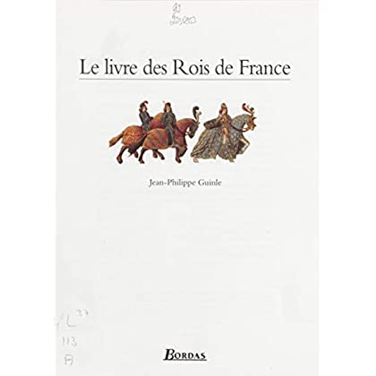 Le Livre des rois de France (Albums)