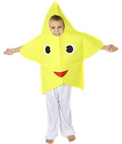 Petitebelle Halloween Weihnachten Obst Gemüse Unisex-Kostüm-Partei-Kleid-Kleidung Einheitsgröße Star