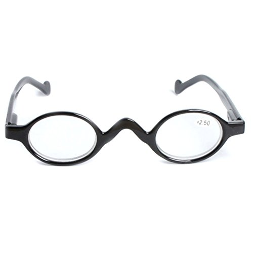 Haodasi Weinlese-kleine runde Rahmen-Leser die Gläser Presbyopische Gläser lesen -