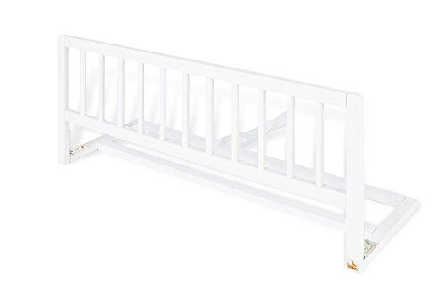 Pinolino 172418 Bettschutzgitter, 90 x 33 x 36 cm, weiß -