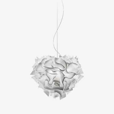 Slamp Veli Suspension Light, 176cm, White, Ø42 H 36cm H max176cm