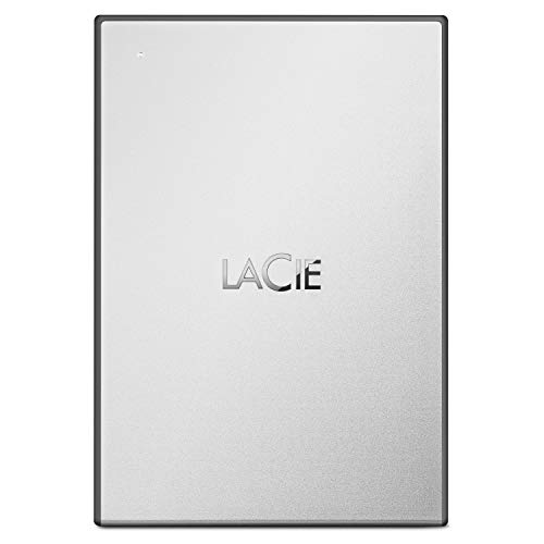 LaCie 1TB USB 3.0 Portable External Hard Drive with 1 Month Adobe CC All Apps Plan (STHY1000800)
