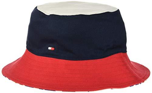 Tommy Hilfiger Jungen Bucket HAT Mütze Mehrfarbig (Corporate 901) S (Herstellergröße: S-M)