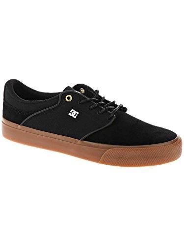 DC Shoes, Sneaker uomo, Nero (nero/gomma), 46.0