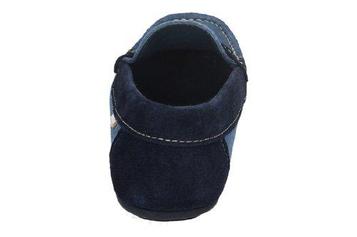 PABLOSKY Cuir Orangé PABLOSKY Chaussures Mocassins en Cuir Bleu - bleu
