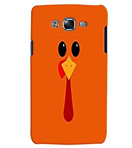 Citydreamz Orange Chicken Cartoon Hard Polycarbonate Designer Back Case Cover For Samsung Galaxy On7 Pro