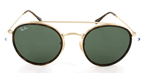 Ray-ban junior rb 3647n occhiali da sole, oro (gold), 51 mm unisex-adulto