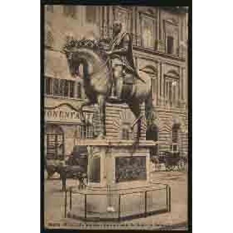 Antigua Postal - Old Postcard : FIRENZE - Piazza delle Signoria - Mon.a Cosimo de Medici (G.Bogna). Italia