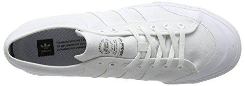 adidas Unisex-Erwachsene Matchcourt Skateboardschuhe Weiß (Footwear White/Footwear White/Footwear White)