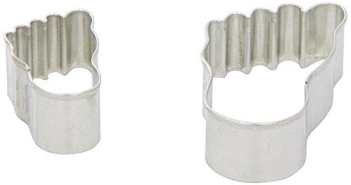 Preisvergleich Produktbild RBV Birkmann Käsefußset 2-tlg.in PET-Box: mit Rezepten,  Weißblech, 6-9cm