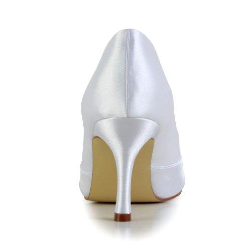 Blanc mariage de A31B12A pour Jia Escarpins Wedding chaussures mariée femme Jia wSa1FCqxPn