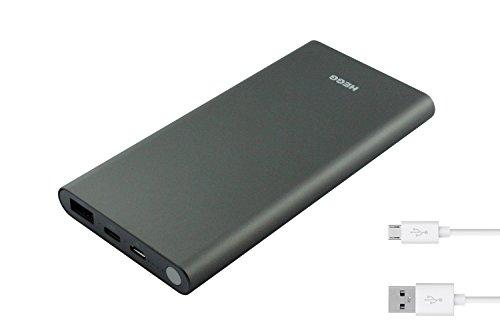 HEGG - Powerbank echte 10.000 mAh / USB-C / 3A / Universal für Iphone, Tablet, Android, Handy uvm.
