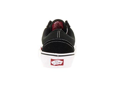 Chaussures Old Skool Pro Vans Pro Skate - Rouge Dark Noir/WHITE