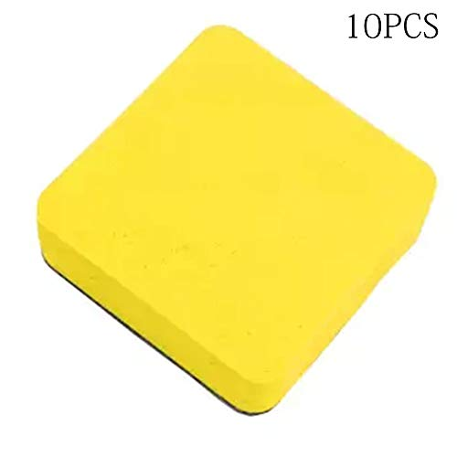 Sponges & Scouring Pads - Dry Cute Non Toxic Magnetic Felt Cloth Cleaner Chalkboard Whiteboard Board Eraser - & Magnetic Plank Magnet Dry Backdrop Vinyl Scouring Whiteboard School Photo Board S