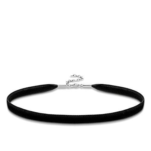Thomas Sabo Damen-Choker Glam & Soul 925 Sterling Silber KE1728-331-11-L36v, 31 cm + Verlängerung 6 cm