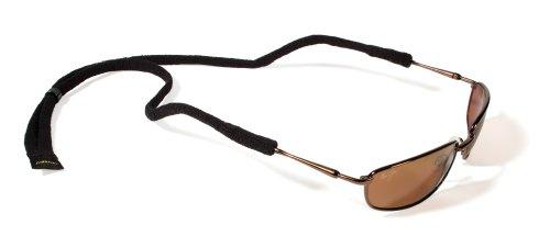 Croakies Micro Suiters Eyewear Retainer, Damen, schwarz, 1 Pack Micro