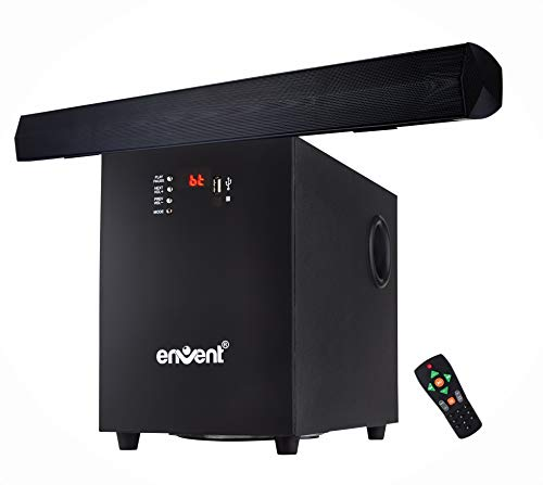 Envent Horizon 503 Multimedia Channel Sound Bar Home Theatre System (Black)