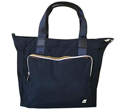 K-Way borsa k toujours shopper 9AKK1R16 cm 33x36x17 navy