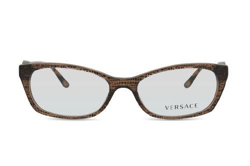 Versace - VE 3164,Géométriques acétate femme LIZARD BROWN