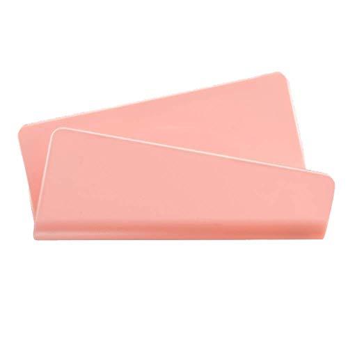 ZQZQ Bedside Handyaufladeeinheit Wandhalterung Handyhalterung Regal Matt Keine Spur Befestigte Ladestation Für Die Wandhalterung,Pink -