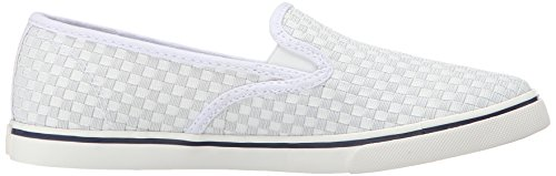 Lauren Ralph Lauren Janis Fashion Sneaker White Woven