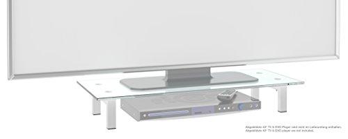 Full-motion Flat Panel Mount (RICOO TV Ständer Monitorständer Bildschirmständer Podest FS6028W Universal Standfuß Rack Fernsehständer LCD QLED QE 4K LED OLED IPS SUHD UHD 3D Curved/ 76cm/30
