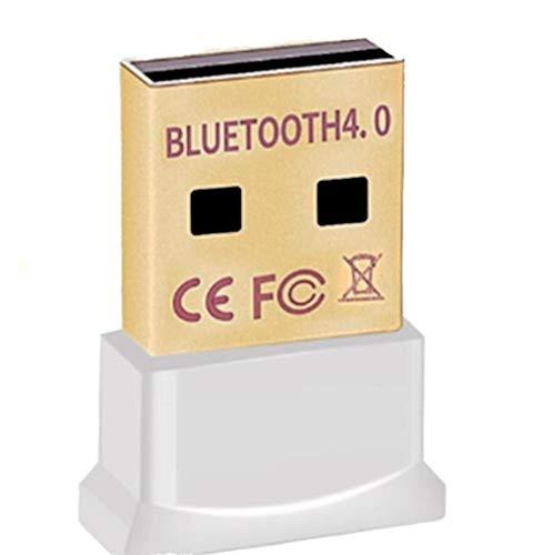 Schwedmann Bluetooth 4.0 USB Adapter | V4.0 verbesserte Energieeffizienz | Bluetooth Class 4.0 Technologie | Plug & Play | Neues Modell | Windows 10 8.1 8 7 Vista XP 32-Bit und 64-Bit (weiss)