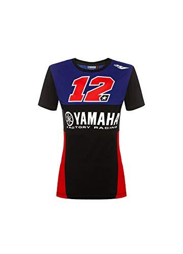 Valentino Rossi Yamaha Vinales-Racing, T-Shirt Donna, Multi, XL