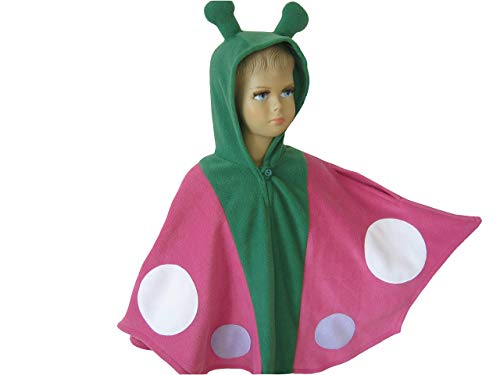 fasching karneval halloween kostüm cape für kleinkinder schmetterling pink