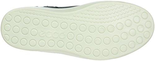 Ecco S7 Teen, Sneakers Hautes Fille Bleu (MARINE2038)