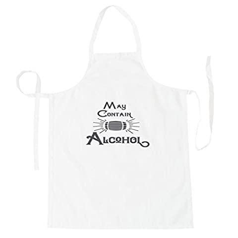 May Contain Alcohol Apron n363b