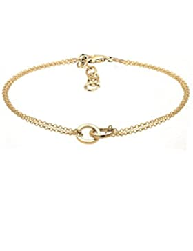 Elli Damen-Armband Kreis 925 Sterling Silber
