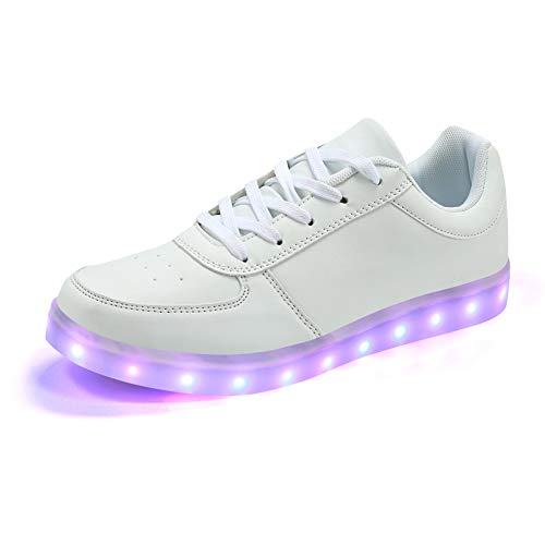 Padgene® Mujeres Hombres Zapatillas Luces LED UP