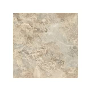 Armstrong World Industries 21745 Armstrong Caliber Vinyl Self-Adhesive Floor Tile, Mesa Stone, 12X12
