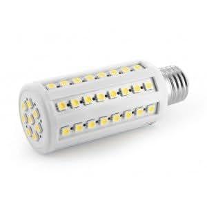ampoule e27 72 led smd5050 super puissante lumiere du jour 10w 90 100w. Black Bedroom Furniture Sets. Home Design Ideas
