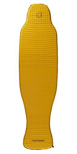 Nordisk Grip 2.5L Self. Infl. Mat Gymnastikmatte, Gold (Mustard), L