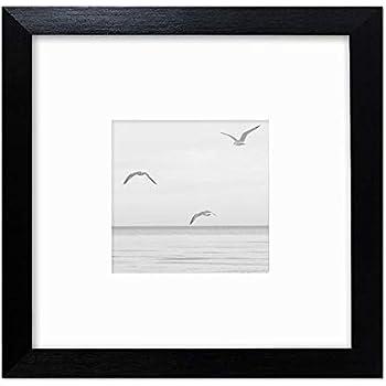hema cadre photo bois 10 x 10 cm blanc fr