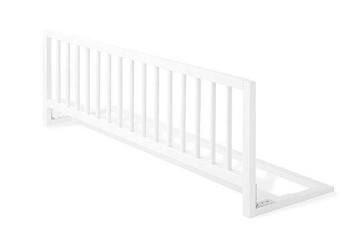 Preisvergleich Produktbild Pinolino 172447 - Bettschutzgitter, 120 x 32 x 40 cm, weiß