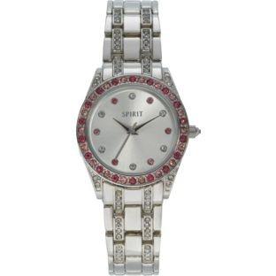 Spirit Lux Damen Analog Quarz Uhr mit Sonstige Materialien Armband ()