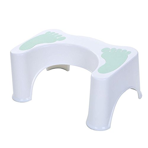 HYP-Ergonomische Toilettenhocker Toilettenhocker ErwachsenePaddel skincare Matratze Hocker cottage Kunststoffhocker Kind alte Mann Sitzkissen Paddel Hocker?Light green