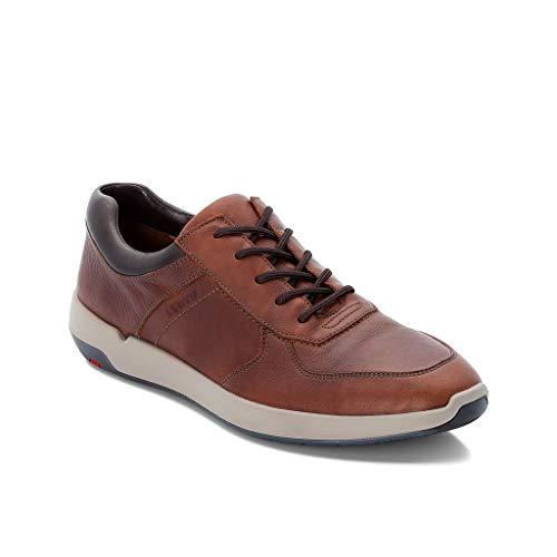LLOYD Herren Low-Top Sneaker Argos, Männer Sneaker,Halbschuh,Schnürschuh,Strassenschuh,Business,Freizeit,Havanna/T.D.Moro,42 EU / 8 UK