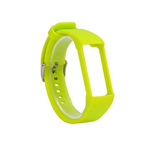 0e7289d7b8f Universal para pulsera de silicona pulsera para Polar A360 A730 GPS Smart  Reloj Smart Pulsera
