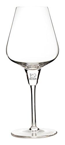 Peugeot Les Impitoyables Révélation n°1 Verre pour Vins Rouge ou Blanc, Verre, Transparent 10 x 10 x 21.5 cm (250294)