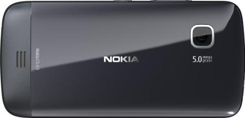 Nokia C5-03 - Smartphone libre  pantalla t  ctil de 3 2  640 x 360  c  mara de 5 MP  40 MB de capacidad  S O  Symbian   negro  Importado de Alemania