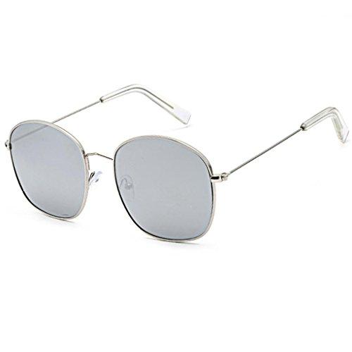 URSING Unisex Damen Herren UV400 Vintage Retro Sonnenbrille Strand Sonnenbrille Auto Fahrer Anti-Reflexions NachtsichtSchutzbrillen, die Gläser fahren Sportsonnenbrille Classic Eyewear (G)